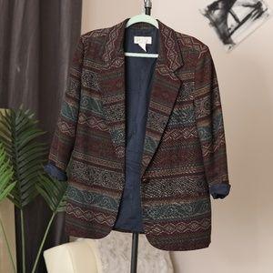 Vintage Oversized Petite Sophisticate Blazer